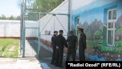 Tajikistan -- The prison of Qurghonteppa city, 17Apr2012