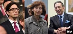Kandidatët për president në Maqedoninë e Veriut.