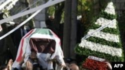 Похороны лидера ливанских маронитов Пьера Жмайеля