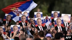 Vojna parada u Beogradu 2014. u vreme posete predsednika Rusije Vladimira Putina, ilustrativna fotografija