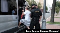 The detention of journalists on July 28 comes just days after Belarusian President Alyaksandr Lukashenka attacked both Russian and Western media outlets for their coverage of developments in his country.