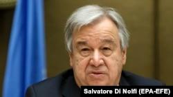 آنتونیو گوترش سر منشی سازمان ملل متحد