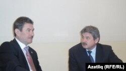 Равил Зарипов (с) һәм Роберт Вагапов