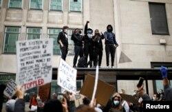 Protesta në Londër më 6 qershor.