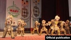 Кыргызстандык таланттуу балдар