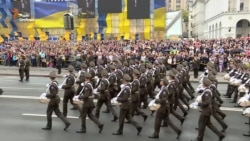 Києвом пройшов військовий парад з нагоди 25-ї річниці незалежності України (відео)