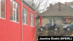 Završni radovi na fasadi zgrade, foto: Jasmina Šćekić