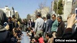 «سفره خالی» معلمان معترض