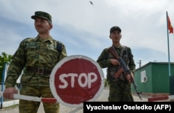 Кыргызстанские пограничники.