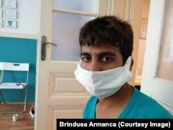 Rauf în vârstă de 17 ani a ajuns la Timișoara după un drum lung prin Pakistan, Iran, Turcia, Bulgaria, Serbia, România