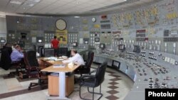 Armenia - The central control panel of the Metsamor nuclear plant.