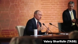 Ежегодная пресс-конференция Владимира Путина. Москва, 19 декабря 2019 года