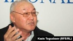 "Главный редактор газеты ""Правда Казахстана"". Алматы, 10 апреля 2012 года."