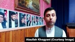 عطاالله خوگیانی سخنگوی والی ننگرهار