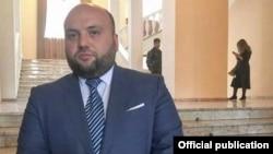 Armenia -- Vayots Dzor Governor Trdat Sargsian.