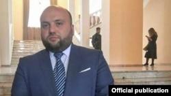 Armenia -- Former Vayots Dzor Governor Trdat Sargsian.