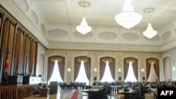 Parlamentul în şedinţă plenară