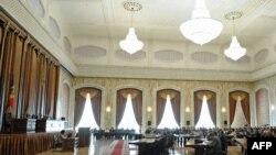 Sala de şedinţe a Parlamentului