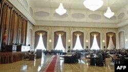 Заседание депутатов парламента Молдавии