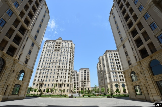 The opulent athletes' village in Baku, the site of the first European Games in June 2015