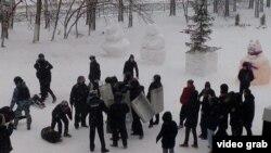 Тукай районында мәктәп укучылары катнашында полиция күнегүләре