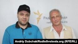 Мирослав Слабошпицький (ліворуч) та Алік Шпилюк