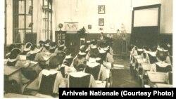 Școala Centrală din București în 1910