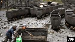 Илустрација: Рудник за јаглен во Кина.