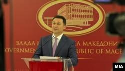 Embattled Macedonian Prime Minister Nikola Gruevski