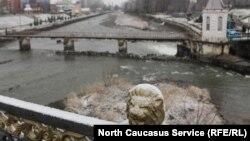 Мост через Терек, Владикавказ, Северная Осетия