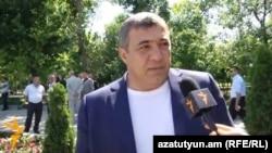 Рубен Айрапетян беседует с Радио Азатутюн, Ереван, 12 июня 2013 г.