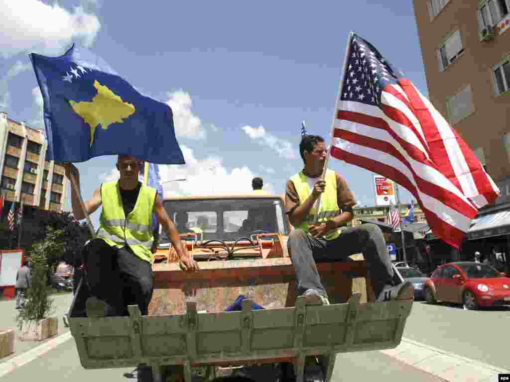 В Косово готовятся к приезду вице-президента США Джона Байдена - В Косово готовятся к приезду вице-президента США Джона Байдена