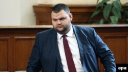 Bulgarian media mogul Delyan Peevski (file photo)