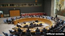 نمایی از یکی از نشست های شورای امنیت (آفریقای جنوبی در حال حاضر رییس این شورا است.)