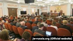 """Заседание Верховного суда России по делу """"Свидетелей Иеговы"""", апрель 2017 года"""