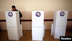 Pamje nga zgjedhjet e 3 nëntorit në Mitrovicën e veriut.