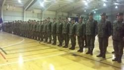 Tuzla: Ispraćaj vojnika OS BiH u Afganistan