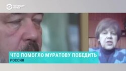 """Ворожейкина: """"Премия послужит щитом для газеты, которая успешно сопротивляется уже почти 30 лет"""""""