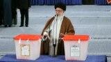 رهبر جمهوری اسلامی در انتخابات ریاست جمهوری سال ۱۳۹۶