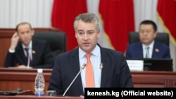 Бывший посол Великобритании в Кыргызстане Робин Орд-Смит.