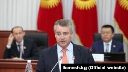 Робин Орд-Смит в бытность послом Британии в Кыргызстане. 3 февраля 2017 года.