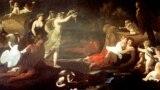 Никола Пуссен. Кефал и Аврора. 1624-1625