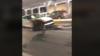 Кадр из видеозаписи, сделанной на месте ДТП.