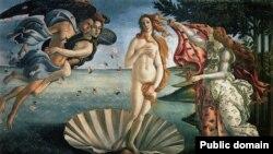 «Народження Венери» Сандро Боттічеллі в галереї Уффіці, Флоренція