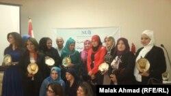 صحفيات يحتفلن باليوم العالمي لحرية الصحافة (من الارشيف)
