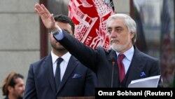 عبدالله عبدالله عبدالله عبدالله رئیس اجرائیه پیشین و از رقیبان اصلی رئیس جمهور اشرف غنی