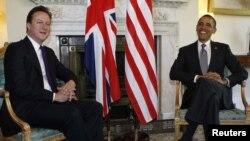 Британский премьер Дэвид Кэмерон и президент США Барак Обама