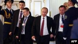 Орусиянын президенти Владимир Путин саммиттен кийин