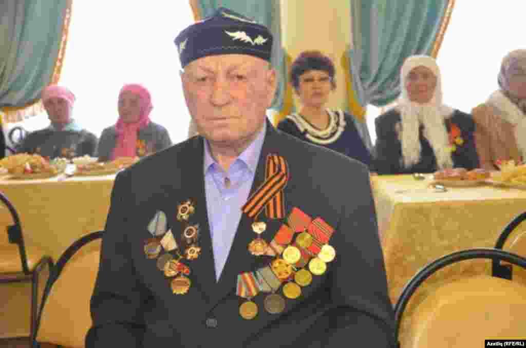 Сугыш ветераны Хәмис Абайдуллин