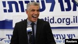 Yair Lapid, liderul Yesh Atid.